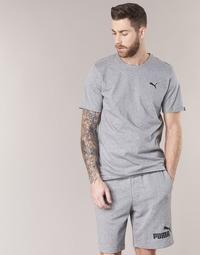 vaatteet Miehet Lyhythihainen t-paita Puma ESS TEE Grey