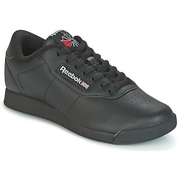kengät Naiset Matalavartiset tennarit Reebok Classic PRINCESS Black