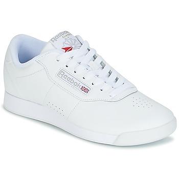 kengät Naiset Matalavartiset tennarit Reebok Classic PRINCESS White