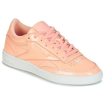 kengät Naiset Matalavartiset tennarit Reebok Classic CLUB C 85 PATENT Pink