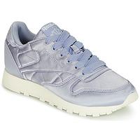 kengät Naiset Matalavartiset tennarit Reebok Classic CLASSIC LEATHER SATIN Violet