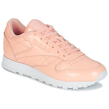 kengät Naiset Matalavartiset tennarit Reebok Classic CLASSIC LEATHER PATENT Pink