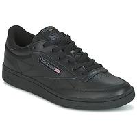 kengät Miehet Matalavartiset tennarit Reebok Classic CLUB C 85 Black