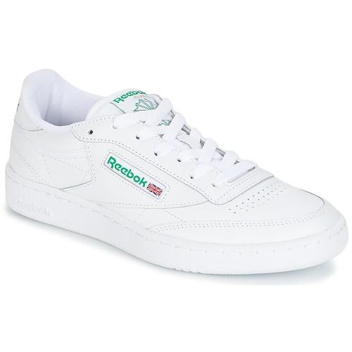 kengät Matalavartiset tennarit Reebok Classic CLUB C 85 White / Green