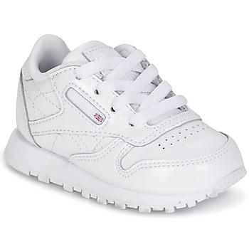 kengät Tytöt Matalavartiset tennarit Reebok Classic CLASSIC LEATHER PATENT White