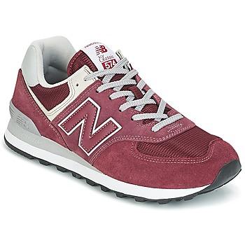 kengät Matalavartiset tennarit New Balance ML574 Viininpunainen