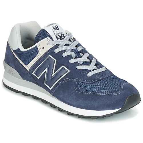 kengät Miehet Matalavartiset tennarit New Balance ML574 Blue