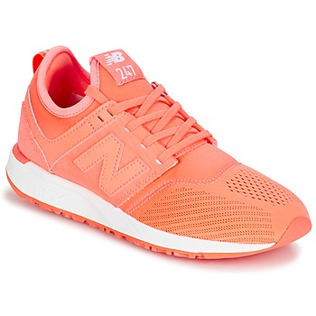 kengät Naiset Matalavartiset tennarit New Balance WRL247 Orange