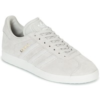kengät Naiset Matalavartiset tennarit adidas Originals GAZELLE W Grey