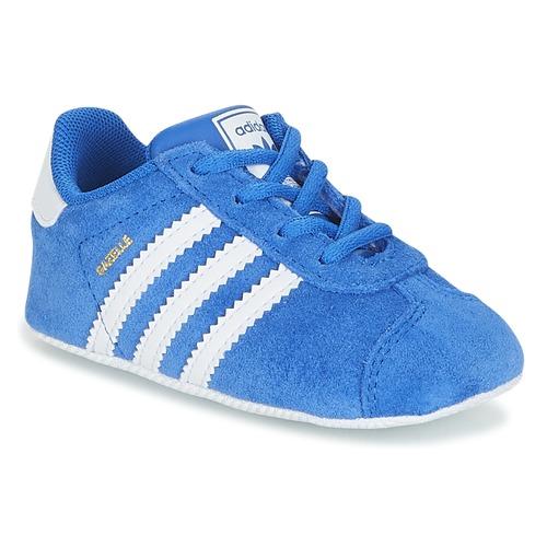 promo code 13ab3 35a28 kengät Lapset Matalavartiset tennarit adidas Originals GAZELLE CRIB Blue