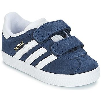 kengät Lapset Matalavartiset tennarit adidas Originals GAZELLE CF I Laivastonsininen