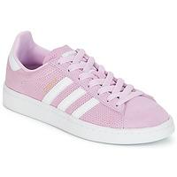 kengät Tytöt Matalavartiset tennarit adidas Originals CAMPUS J Pink