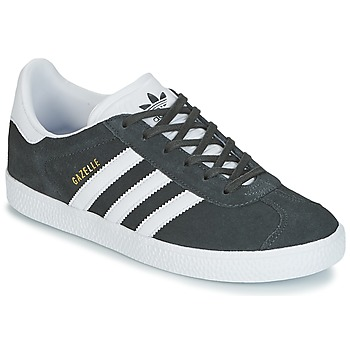 kengät Lapset Matalavartiset tennarit adidas Originals GAZELLE J Grey