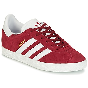 kengät Lapset Matalavartiset tennarit adidas Originals GAZELLE J Bordeaux