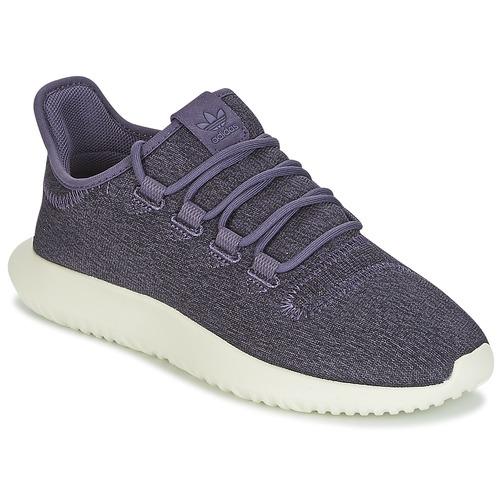kengät Naiset Matalavartiset tennarit adidas Originals TUBULAR SHADOW W Violet