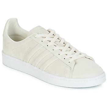 low priced dba0c ba2b5 kengät Matalavartiset tennarit adidas Originals CAMPUS STITCH AND T White    Craie