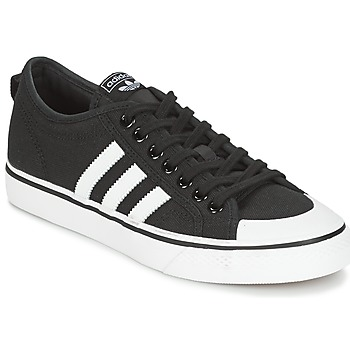 kengät Miehet Matalavartiset tennarit adidas Originals NIZZA Black