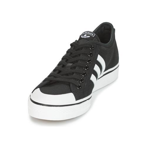 Adidas Originals Nizza Black - Ilmainen Toimitus- Kengät Matalavartiset Tennarit