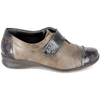 kengät Naiset Derby-kengät Boissy Derby 7510 Noir Ruskea
