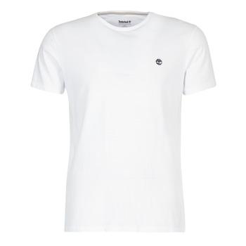 vaatteet Miehet Lyhythihainen t-paita Timberland SS DUNSTAN RIVER CREW TEE White