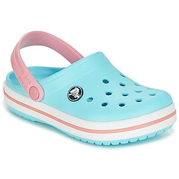 kengät Tytöt Puukengät Crocs Crocband Clog Kids Blue / Pink