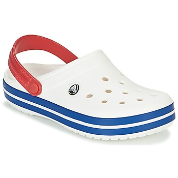 kengät Puukengät Crocs CROCBAND White / Blue / Red