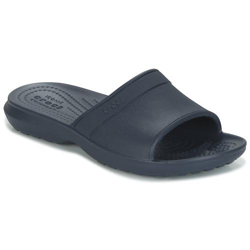 kengät Lapset Rantasandaalit Crocs CLASSIC SLIDE K Laivastonsininen