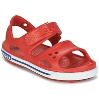 kengät Pojat Sandaalit ja avokkaat Crocs CROCBAND II SANDAL PS Red