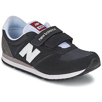 kengät Lapset Matalavartiset tennarit New Balance KE420 Black / Grey