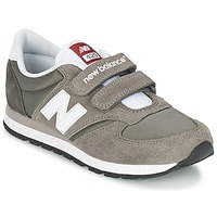 kengät Lapset Matalavartiset tennarit New Balance KE420 Grey / Black