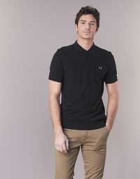 vaatteet Miehet Lyhythihainen poolopaita Fred Perry THE FRED PERRY SHIRT Musta