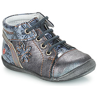 kengät Tytöt Bootsit GBB ROSEMARIE Grey / Blue