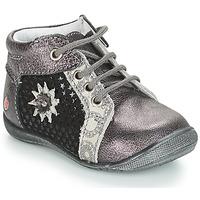 kengät Tytöt Bootsit GBB RESTITUDE Hopea / Black / Grey