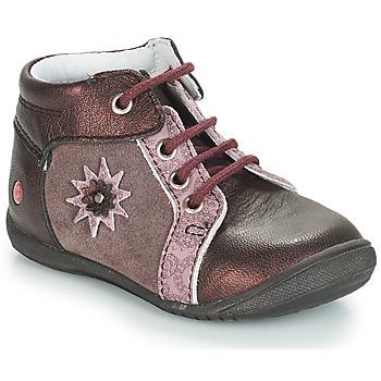 kengät Tytöt Bootsit GBB RESTITUDE Vaalenapunainen-viininpunainen / Dpfkezia