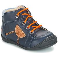 kengät Pojat Bootsit GBB RACINE Blue / Laivastonsininen