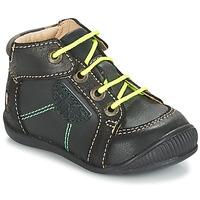kengät Pojat Bootsit GBB RACINE Harmaa / Musta
