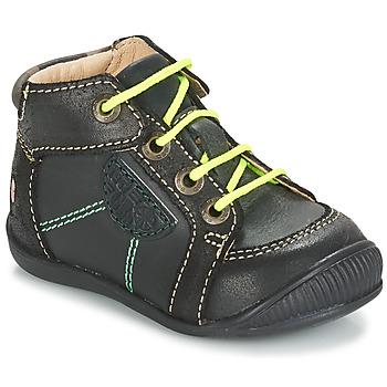 kengät Pojat Bootsit GBB RACINE Ctu / Harmaa-musta / Dpf / Raiza