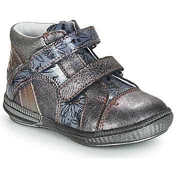 kengät Bootsit GBB ROXANE Grey / Sininen-kuvioitu / Dpf