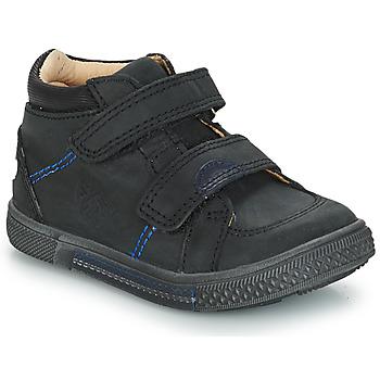 kengät Pojat Bootsit GBB ROBERT Black / Dpf