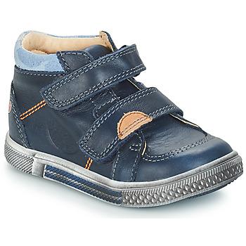 kengät Pojat Bootsit GBB ROBERT Blue / Dch