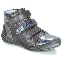 kengät Tytöt Bootsit GBB RAFAELE Grey / Sininen-kuvioitu / Dpf