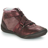 kengät Tytöt Korkeavartiset tennarit GBB RIQUETTE Brown / Bronze