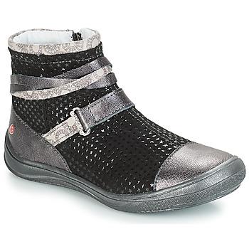 kengät Tytöt Bootsit GBB ROCHELLE Grey / Black
