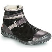 kengät Tytöt Bootsit GBB ROCHELLE Black / Hopea