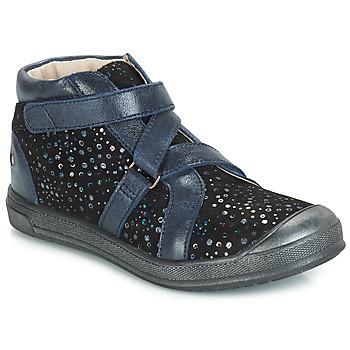 kengät Tytöt Korkeavartiset tennarit GBB NADEGE Blue