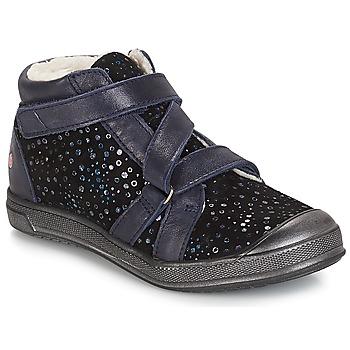 kengät Tytöt Bootsit GBB NADEGE Black / Confetti / Dch / Edit