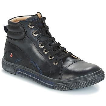 kengät Pojat Bootsit GBB RALPH Black / Dpf