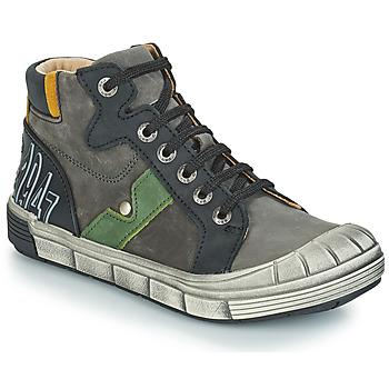 kengät Pojat Bootsit GBB RENZO Nuv   Harmaa-musta   Dpf   2831 80300fde8f