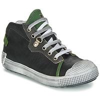 kengät Pojat Korkeavartiset tennarit GBB RONALD Grey / Green