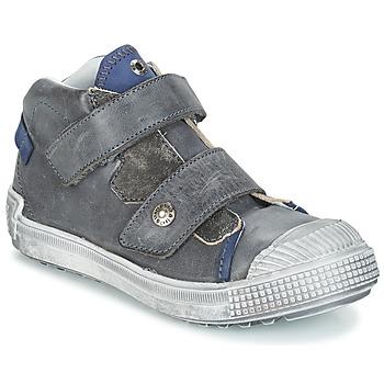 kengät Pojat Korkeavartiset tennarit GBB ROMULUS Grey / Blue